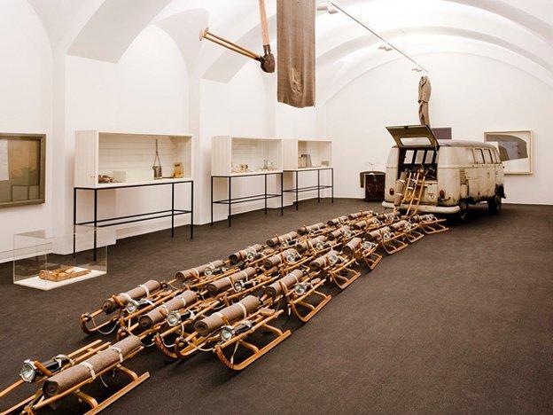 Beuys, Joseph Das Rudel MHK Neue Galerie.jpg