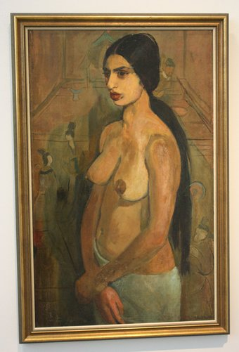 Amrita Sher-Gil: Self Portrait as Tahitian