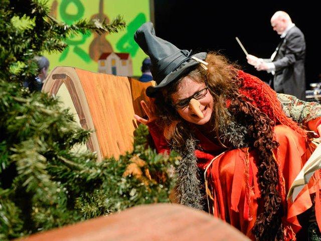 1. Kinderkonzert: Die Hexe und der Maestro