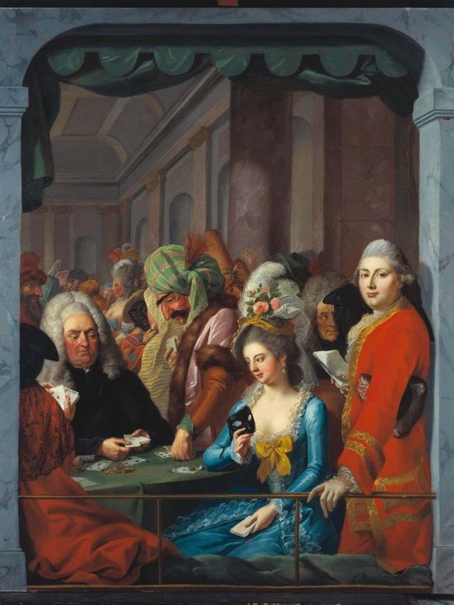MHK_Johann Heinrich Tischbein d.Ä,_Maskenszene mit Kasseler Persönlichkeiten_178085_ M10142.jpg