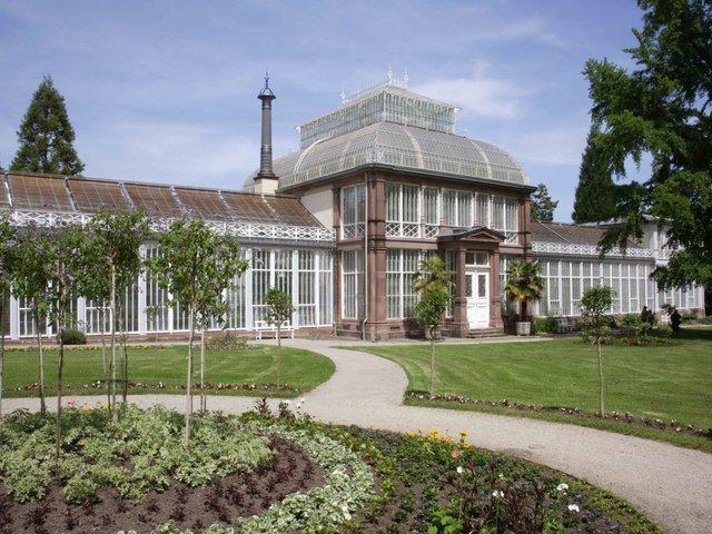 Park Wilhelmshoehe-Gewaechshaus