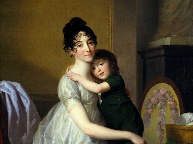 MHK_Johann Friedrich August Tischbein_Anne Pauline Dufour-Feronce mit ihrem Sohn Jean Marc Albert_1802_M10269.jpg
