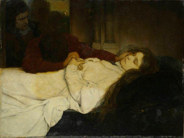 MHK_Gabriel Cornelius von Max_Junges Mädchen auf dem Totenbett_1876_Foto Arno Hensanns_M90305.jpg
