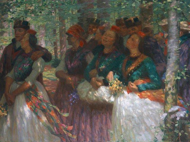MHK_Carl Bantzer_Waldspaziergang_1914_M10118.jpg