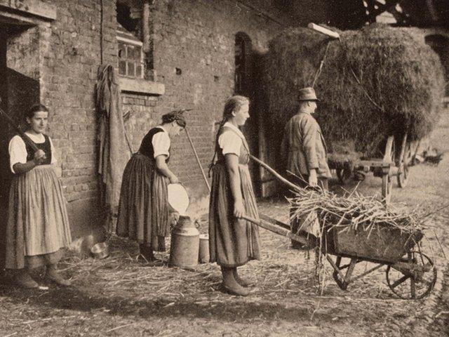MHK_Frauen bei landwirtschaftlichen Tätigkeiten in Mardorf, Kreis Marburg-Biedenkopf_1936_VK40898.jpg