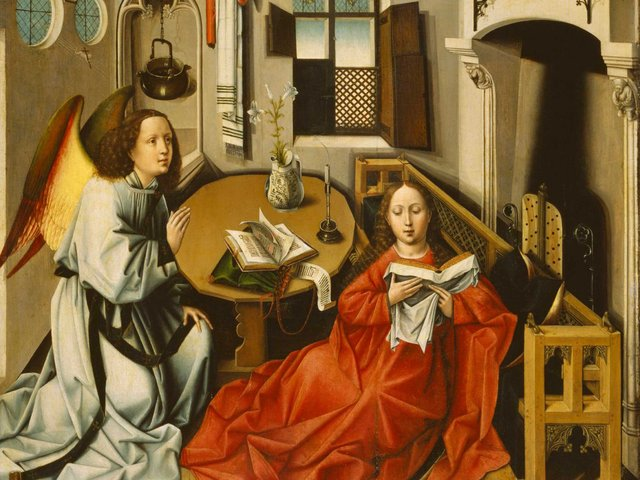 MHK Kopie nach Robert Campin Die Verkündung an Maria_Jahrzent nach 1500 © MHK_Galerie Alte Meister Kassel.jpg