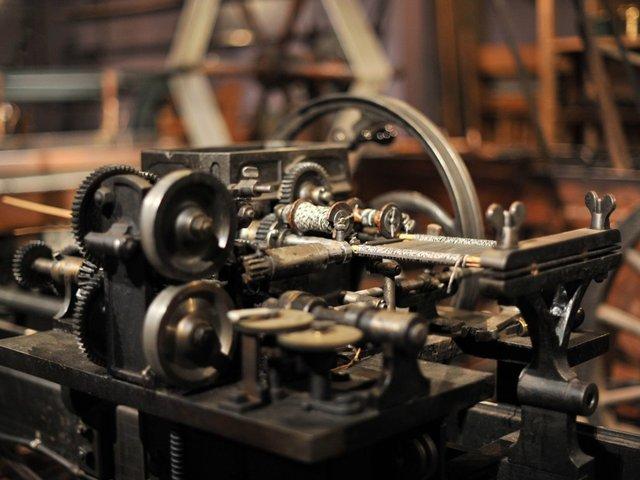 Detail einer Weberwerkstatt aus Mörshausen