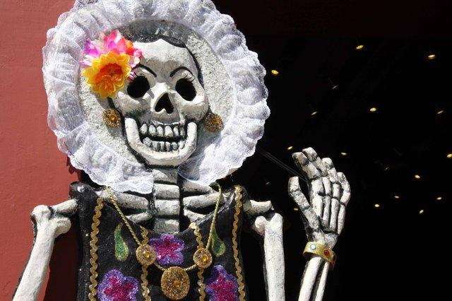 """Dia de los Muertos"" Sepukralmuseum Kassel"
